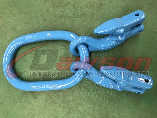 G100 Master Link + G100 Eye Grab Hook with Clevis Attachment ×2 - Dawson Group Ltd. - China Manufacturer, Supplier, Exporter