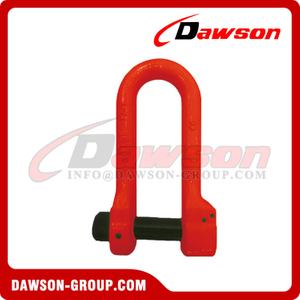 Forged Super Alloy Steel D Shackle with Safety Pin