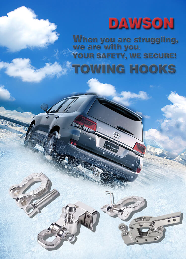 Stainless Steel 304 Towing Hook, SS 304 Trailer Hook - Dawson Group Ltd. - China Factory, Supplier