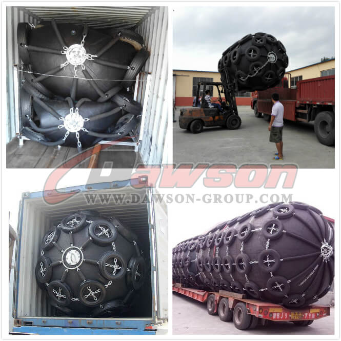Packing and Delivery of Pneumatic Marine Yokohama Type Rubber Fender - China Manufacturer
