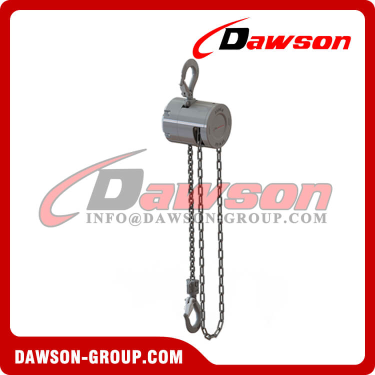 Mini Aluminum Alloy Chain Hoist , Chain Block - Dawson Group Ltd. - China Supplier