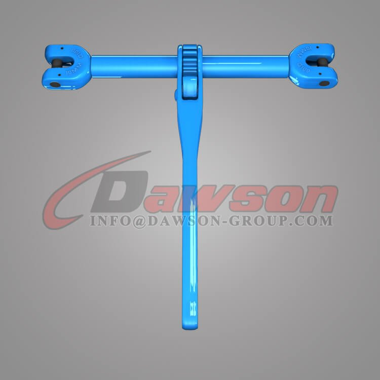 Grade 100 Forged Steel Clevis Type Ratchet Load Binder for Lashing - Dawson Group Ltd. - China Factory