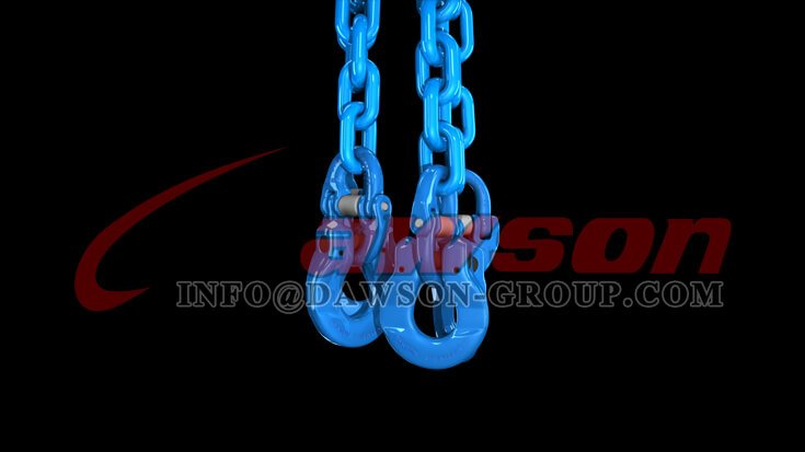 Application of Grade 100 Forged Alloy Steel Omega Link for Lifting Chain Slings - Dawson Group Ltd. - China Manufacturer
