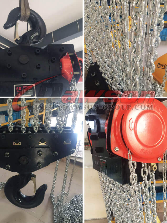 50 Chain Block, Chain Hoist - Dawson Group Ltd. - China Supplier, Factory