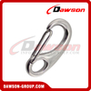 Stainless steel Egg shape spring hook