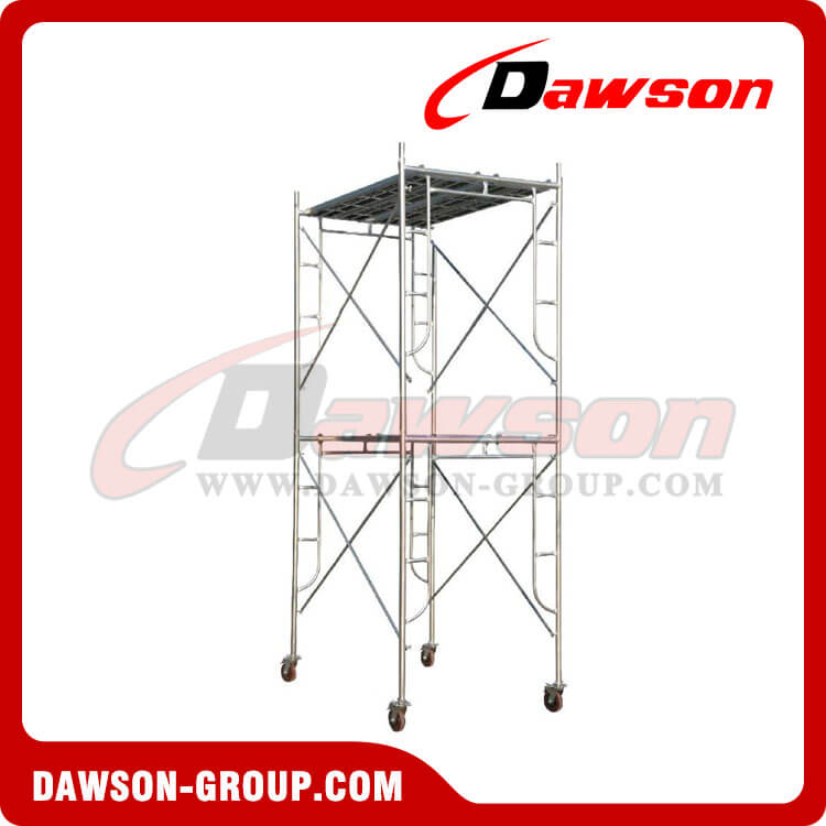 A-Frame Scaffolding System For Construction Steel pipe, Construction ...