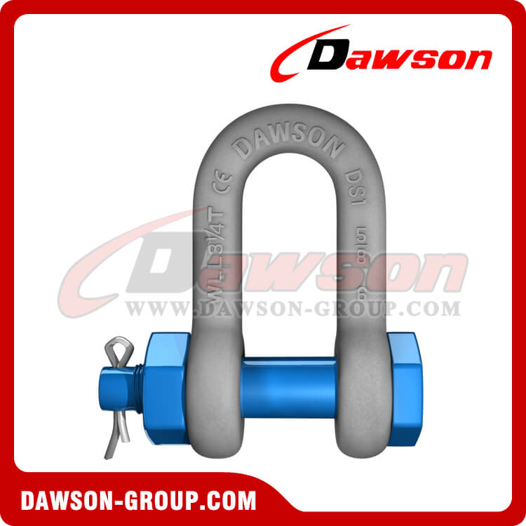 Hot Dip Galvanized US Type Chain Shackle with Safety Pin
