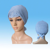 Disposable Head Cover, Soft Spunlace Head Cover with Ties