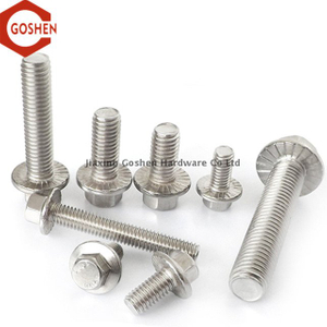 Stainless Steel 304 Hex Serrated Flange Bolt A2-70