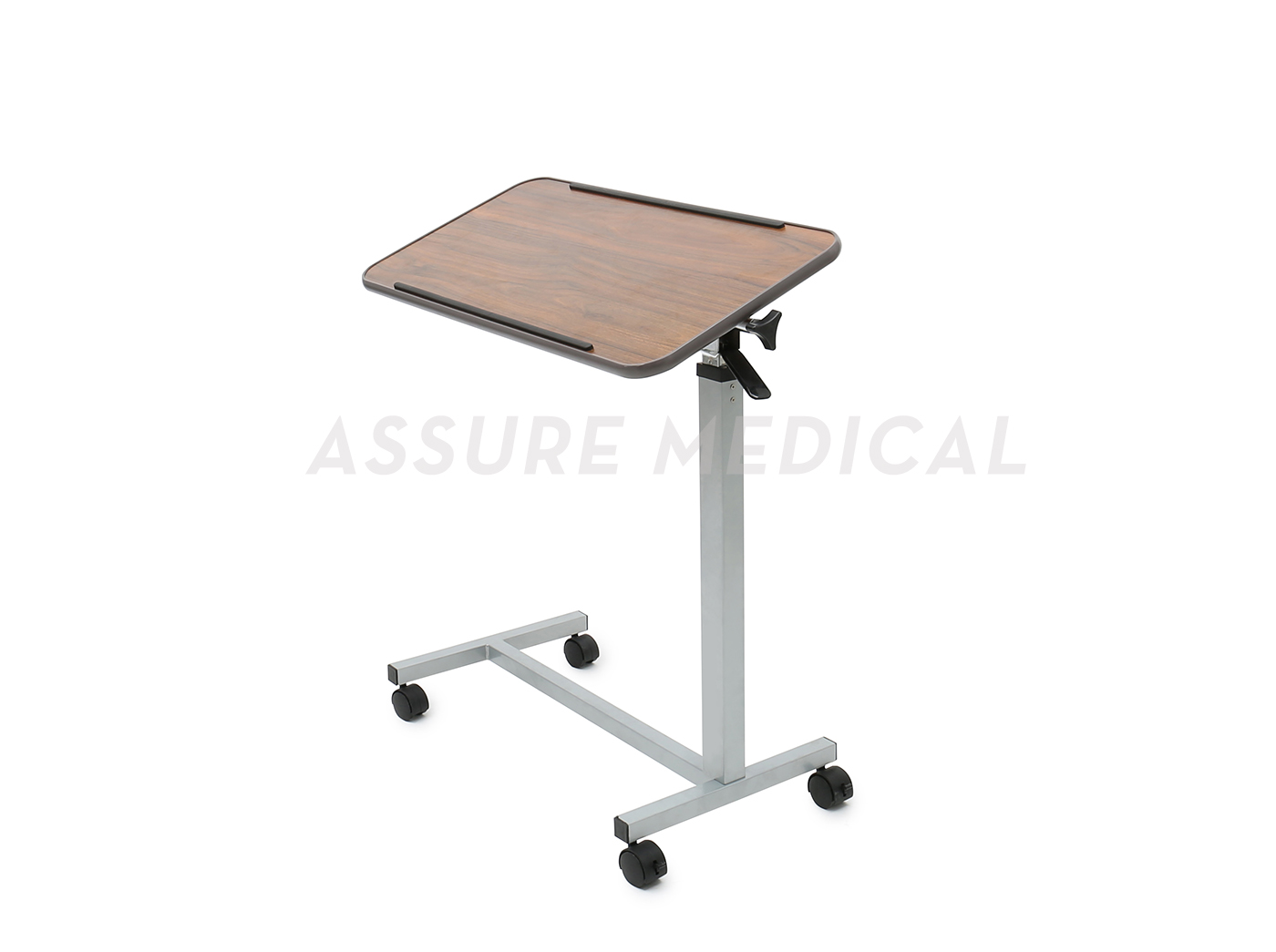 Deluxe, Tilt-Top Overbed Table (YJ-6800) Height Adjustment