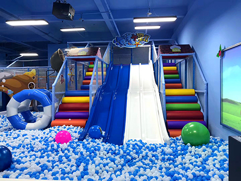 Ocean theme Indoor Playground Case in South Korea