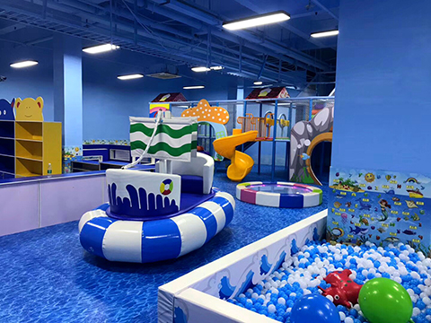 Ball Pit of Ocean theme indoor playground(2)