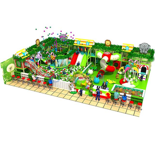 Forest Themed Indoor Amusement Park Commercial Soft Play Equipment