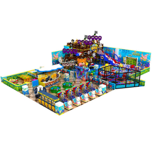 Pirate Ship Theme Amusement Park Equipment Indoor Playground
