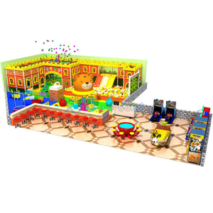Candy Theme Children Soft Play Small Indoor Playground Equipment