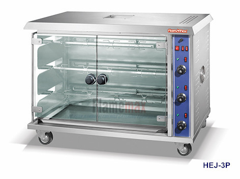 HEJ-3P Electric Rotisserie (3-Rod)