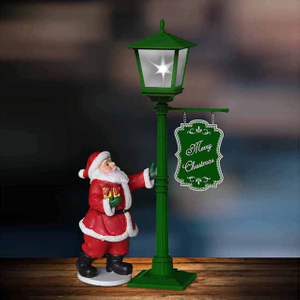 Mini street light christmas decoration light magic lamp