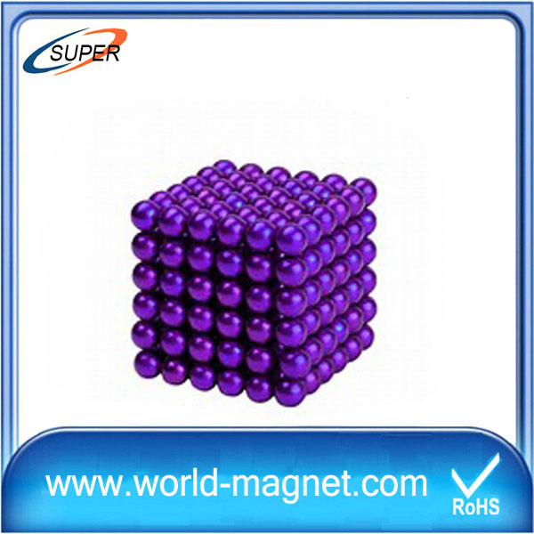 216pcs per set Dia 5mm NdFeB colorful magnetic balls