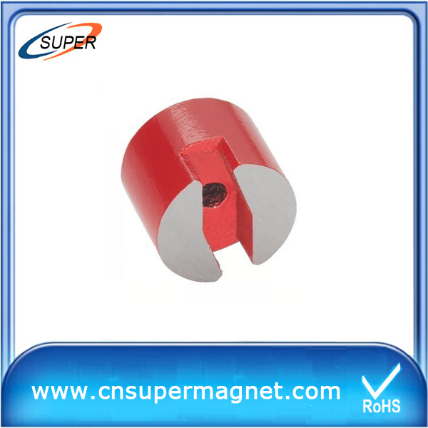Promotional AlNiCo Magnet/big round magnets/custom cast alnico magnet