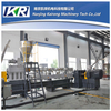 Two stage PVC compounding extruder