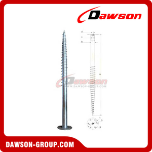 DSb12 F76×1600×220 Earth Auger F Ground Pile Series