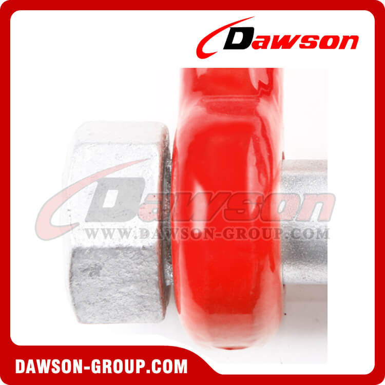 G80 Bolt Type Chain Shackle Grade Grade 80 Alloy Steel - Dawson group