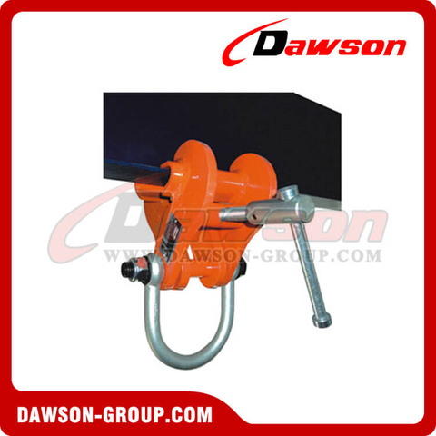 DS-BCL Beam Clamp with Fixed Jaw & Fitting Shackle