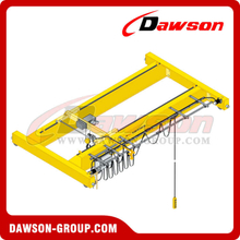 DIN/FEM Standard Electric Double Girder Crane For Loading