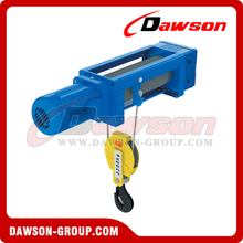 Foot-Mounted Electric Wire Rope Hoist DSWHF-B (2/1 Rope Reeving)