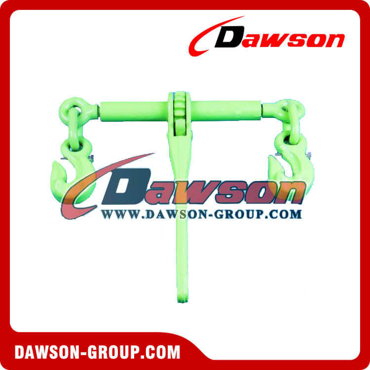 G100 Rachet load binder with eye grab hooks with Safety Pin - Dawson