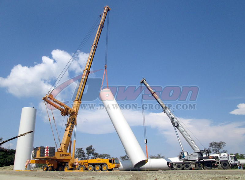 application of polyester round sling - dawson group ltd. - china manufacturer, supplier