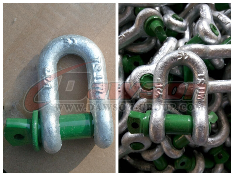 Forged Alloy Screw Pin Chain Shackle - Dawson Group Ltd. - China Manufacturer, Supplier, Factory