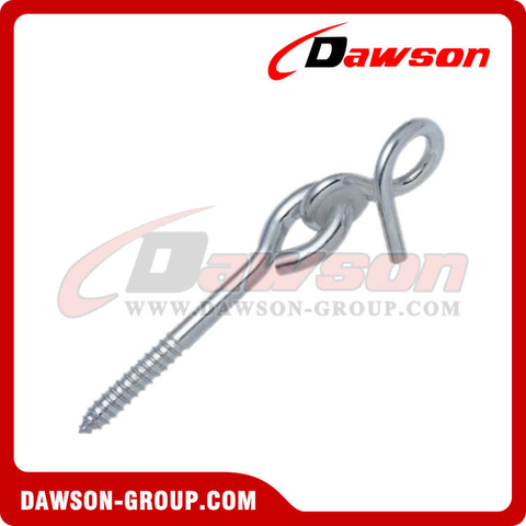 Stainless Steel Swing Hook with Bolt and Plastic Washer