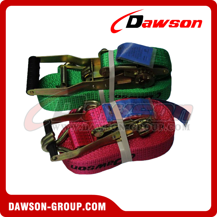 Ergo Ratchet Tie Downs Ergonomic Ratchet Straps Cargo Lashing - China Supplier