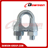 Din 741 Galv. Malleable Wire Rope Clip