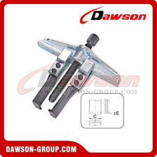 DSTD0804S 2 Arm Gear Puller With Special Claw