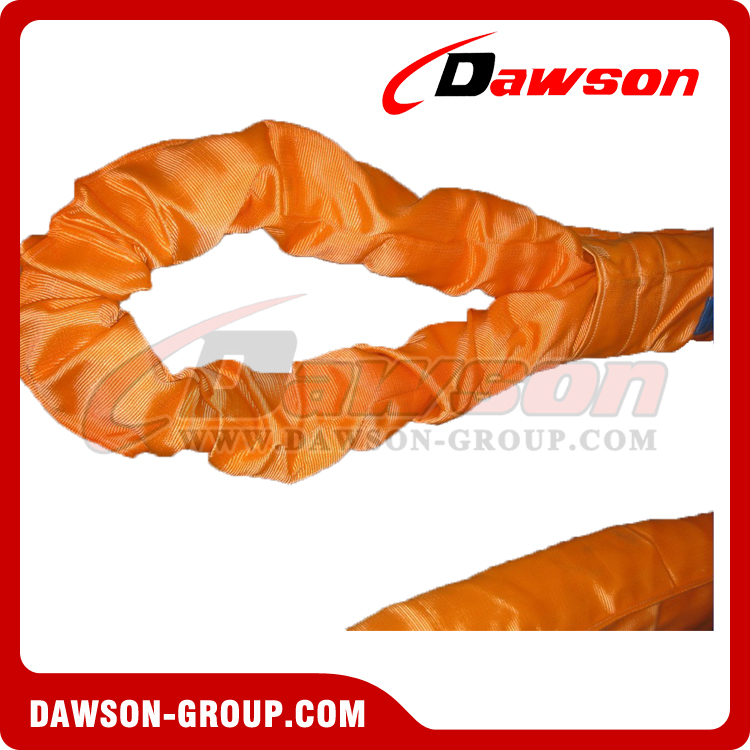 WLL 50T Polyester Round Slings