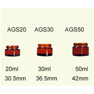 Amber Glass Pharmaceutical Jars