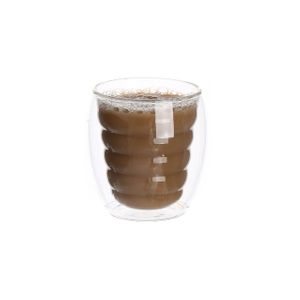 10oz/300ml double wall glass cups