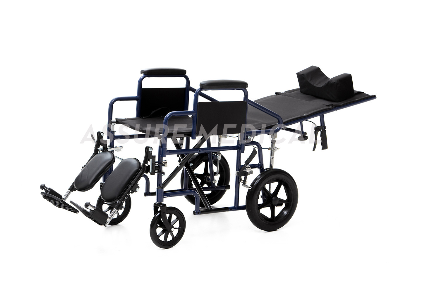 YJ-011L Steel Manual Wheelchair Reclining Wheelchair
