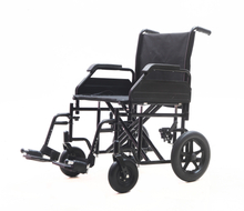 YJ-010C-1 Heavy duty Steel transit wheelchair