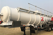 HOWO Tractor Truck & Acid Tanker Trailer export to Zambia