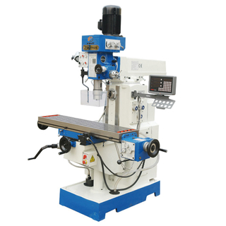 ZX6350C 44''x11'' Universal Milling Machine with X Axis Power Feed