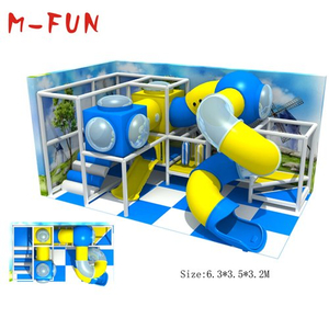 Kids Plastic Indoor Playground Equipment With Ball Pool