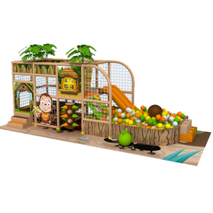 Commercial indoor playsets