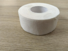 White cotton rigid strapping tape 2.5cmx10cm