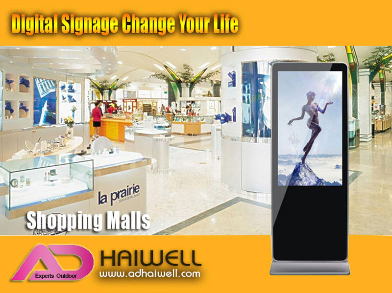 digital-lcd-signage-Applications-shopping-malls