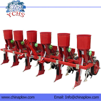 Corn Planter With Fertilizer