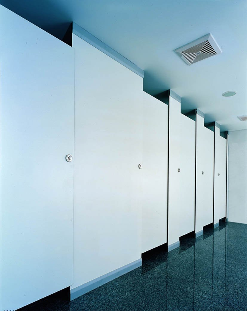 HPL Bathroom Door Partition