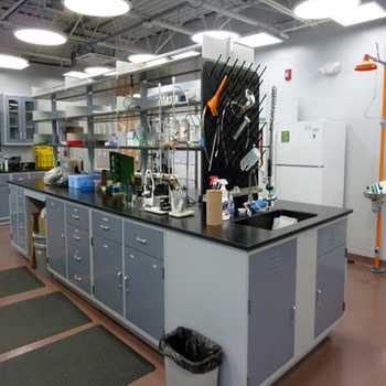 The effect of Brikley solid core phenolic resin countertop in the laboratory